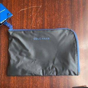 NWT Cole Haan makeup/toiletries bag from AAirlines